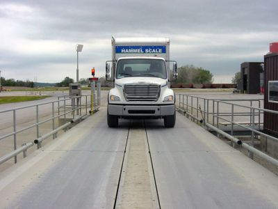 14ft wide Truck Scale