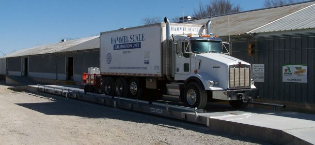 Above-ground Truck Scale 2