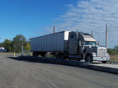 Above-ground Truck Scale