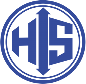 Hamel Scale Circle Logo - Blue - Filled