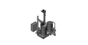 Drum Filling Orientation Station
